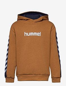 hmlTAKAO HOODIE - hoodies - rubber