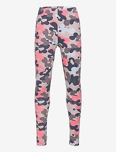 hmlPOLLY TIGHTS - leggings - bark