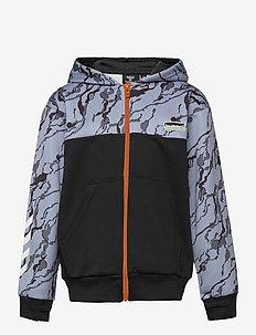hmlNILAR ZIP HOODIE - hoodies - black
