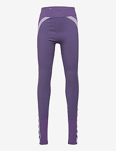 hmlHARPER SEAMLESS TIGHTS - leggings - ombre blue