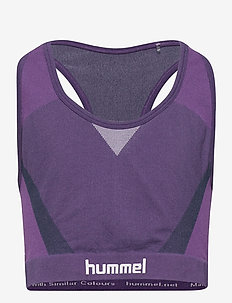 hmlHARPER SEAMLESS SPORTS TOP - sleeveless - ombre blue