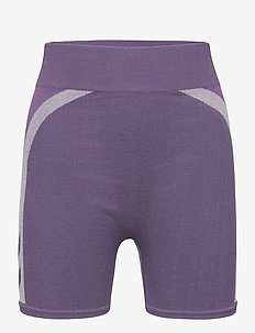 hmlHARPER SEAMLESS TIGHT SHORTS - shorts - ombre blue