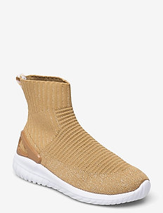 PULSE SOCK RECYCLE - høje sneakers - gold