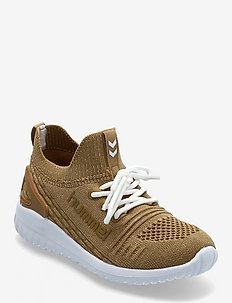 KNIT RUNNER RECYCLE - low tops - gold