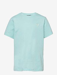 hmlUNI T-SHIRT S/S - short-sleeved - blue tint
