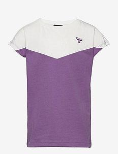 hmlCIETE T-SHIRT S/S - short-sleeved - chinese violet