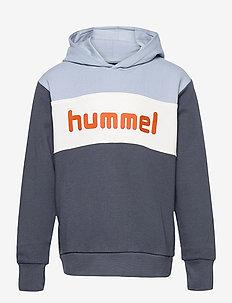 hmlMORTEN HOODIE - hoodies - blue fog