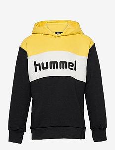 hmlMORTEN HOODIE - hoodies - maize