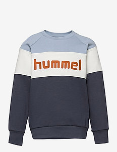hmlCLAES SWEATSHIRT - sweatshirts - blue fog