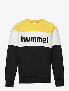 hmlCLAES SWEATSHIRT - sweatshirts - maize