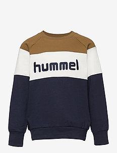 hmlCLAES SWEATSHIRT - sweatshirts - rubber
