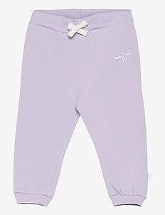 hmlNORA PANTS - sweatpants - pastel lilac
