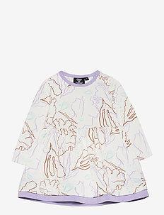 hmlOLIVIA DRESS L/S - kjoler - pastel lilac