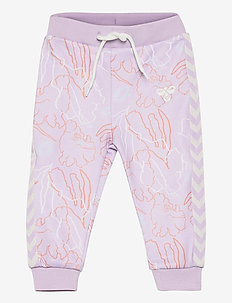 hmlLAURA PANTS - trousers - pastel lilac