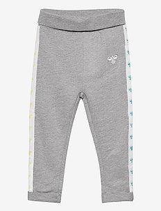 hmlOTTO PANTS - sweatpants - grey melange