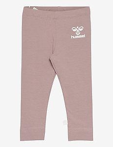 hmlMAUI TIGHTS - leggings - woodrose