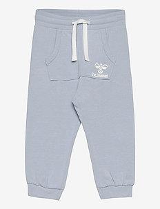 hmlFUTTE PANTS - sweatpants - blue fog