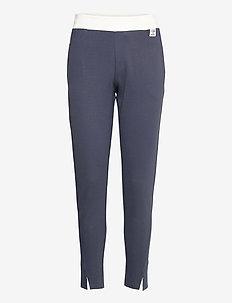 hmlCEDAR REGULAR PANTS - pants - blue nights