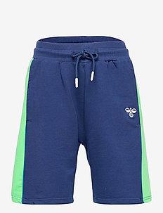 hmlDEFENDER SHORTS - shorts - estate blue