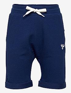 hmlFLICKER SHORTS - shorts - estate blue