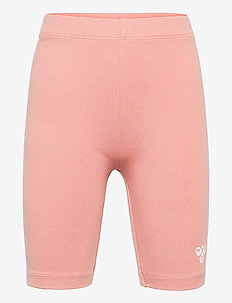 hmlMINNIE SHORTS - shorts - cameo brown