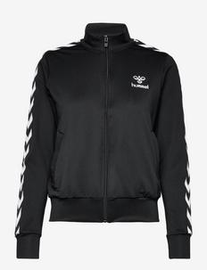 hmlNELLY 2.0 ZIP JACKET - sweatshirts - black