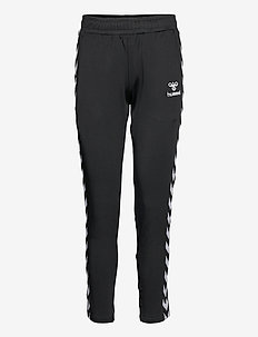 hmlNELLY 2.0 TAPERED PANTS - collegehousut - black
