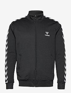 hmlNATHAN 2.0 ZIP JACKET - sweats basiques - black