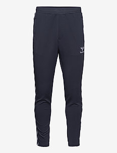 hmlNATHAN 2.0 TAPERED PANTS - blue nights