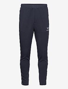 hmlNATHAN 2.0 TAPERED PANTS - pantalons - blue nights