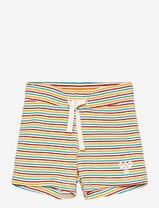 hmlALEX SHORTS - shorts - white asparagus