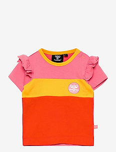 hmlANNI T-SHIRT S/S - kortärmade t-shirts - tea rose