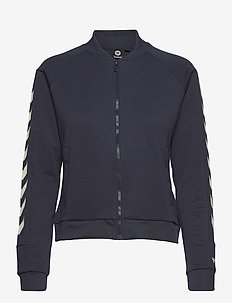 hmlRAMONA ZIP JACKET - sweatshirts - blue nights