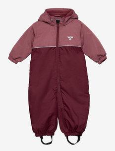 hmlSNOOPY SNOWSUIT - snowsuit - roan rouge