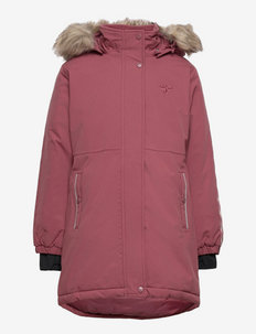 hmlLEAF COAT - insulated jackets - roan rouge