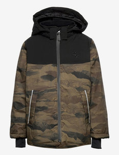 hmlLOGAN JACKET - insulated jackets - chocolate chip