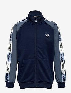 hmlCHUCK ZIP JACKET - sweatshirts - black iris