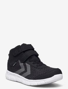 CROSSLITE MID TEX JR - low-top sneakers - black