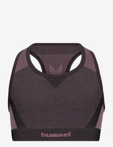 hmlSPIN SEAMLESS SPORTS TOP - sweaters - twilight mauve