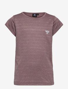 hmlSUTKIN T-SHIRT S/S - kortærmede t-shirts - twilight mauve