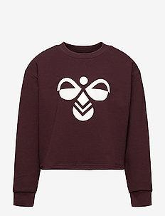 hmlCINCO SWEATSHIRT - sweatshirts - fudge
