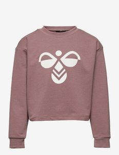 hmlCINCO SWEATSHIRT - sweaters - twilight mauve