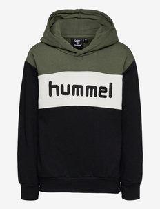 hmlMORTEN HOODIE - hoodies - thyme