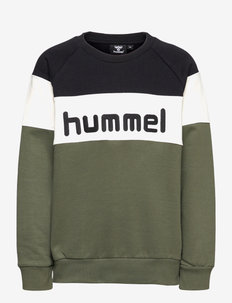 hmlCLAES SWEATSHIRT - sweaters - thyme