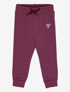 hmlDALLAS PANTS - sports pants - roan rouge