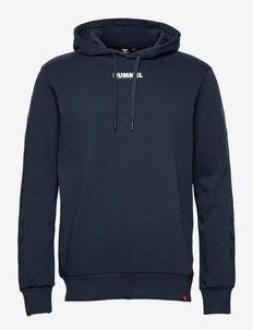hmlLEGACY HOODIE - hoodies - blue nights