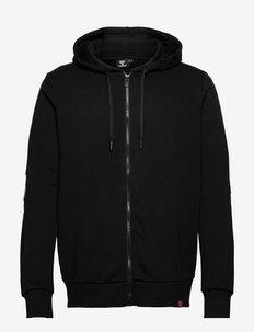 hmlLEGACY ZIP HOODIE - hoodies - black