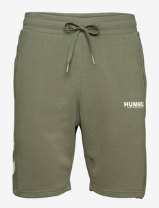 hmlLEGACY SHORTS - casual shorts - beetle