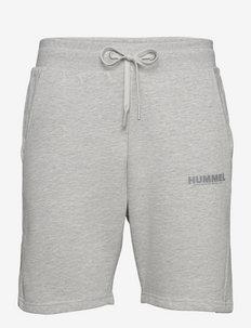 hmlLEGACY SHORTS - casual shorts - grey melange