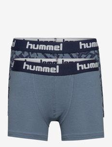 hmlNOLAN BOXERS 2-PACK - sous-vêtements pour hommes - china blue